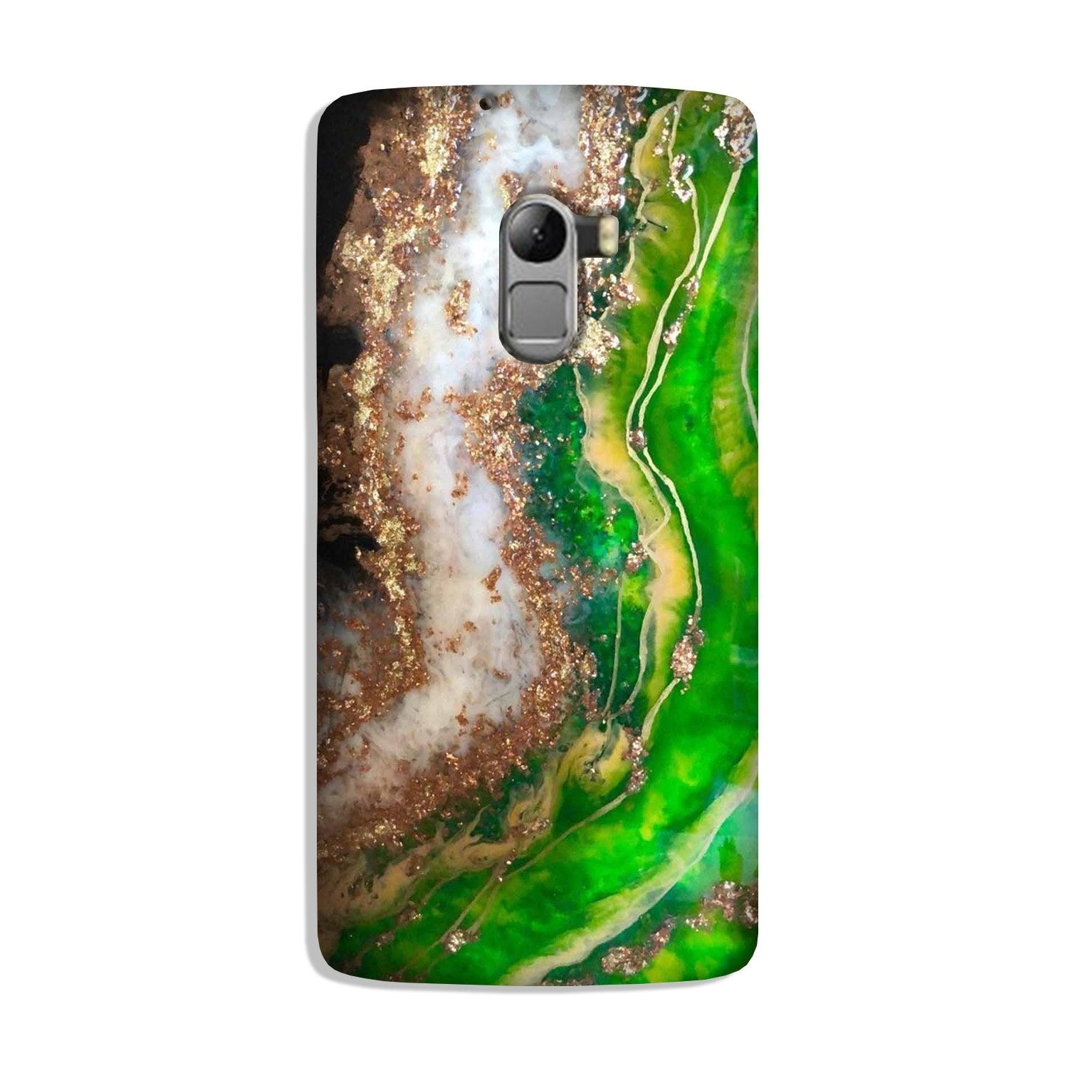 Marble Texture Mobile Back Case for Lenovo K4 Note (Design - 307)