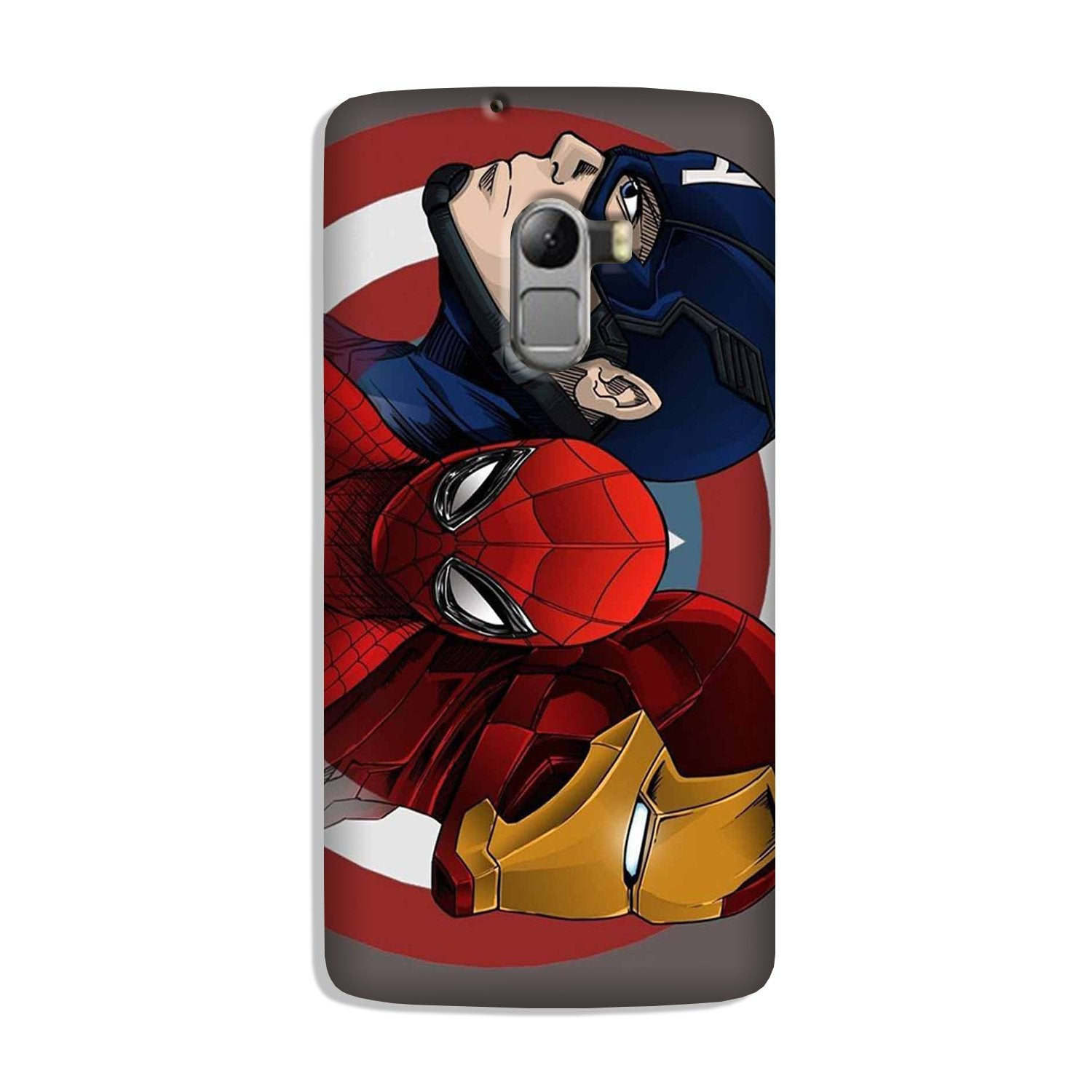 Superhero Mobile Back Case for Lenovo K4 Note (Design - 311)