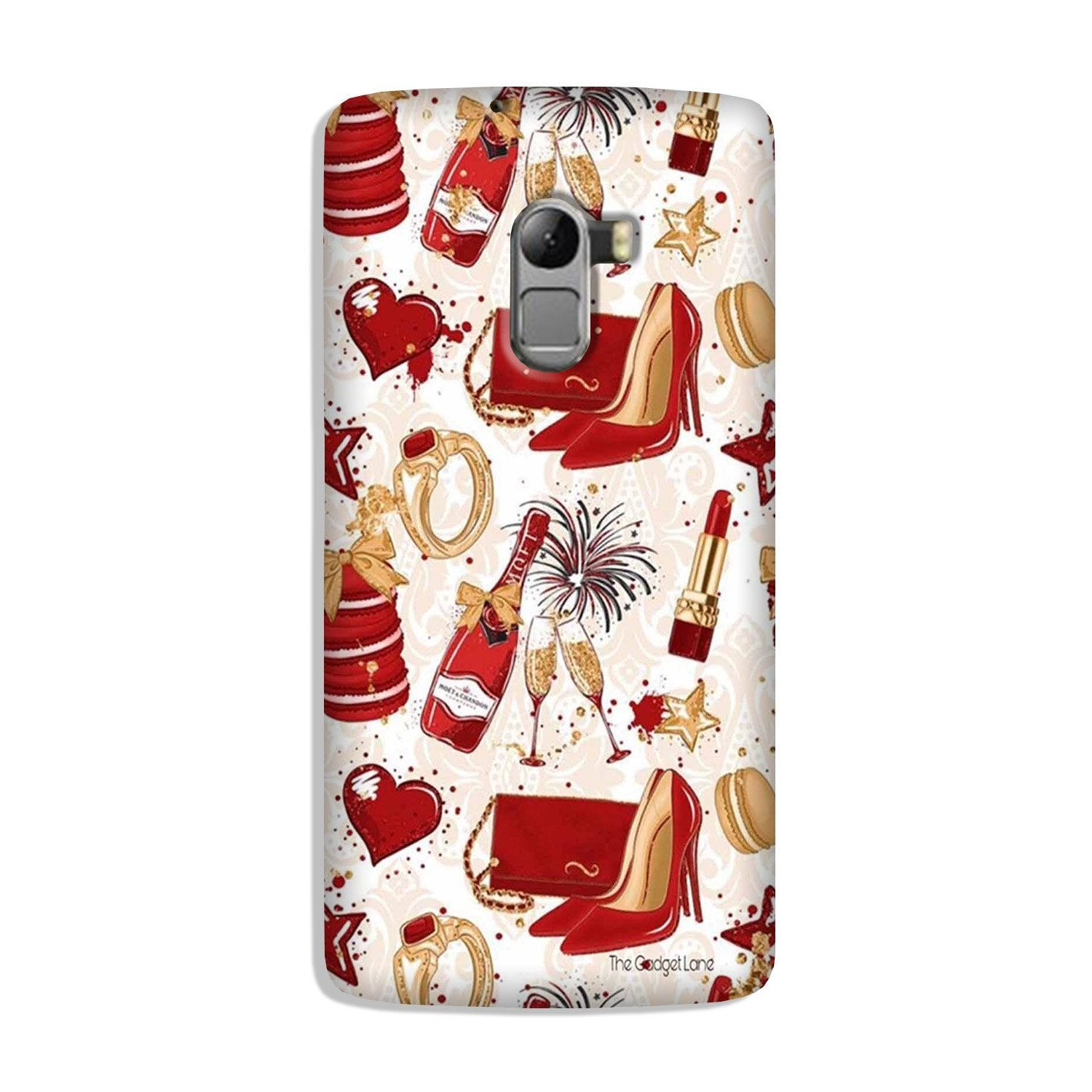 Girlish Mobile Back Case for Lenovo K4 Note (Design - 312)