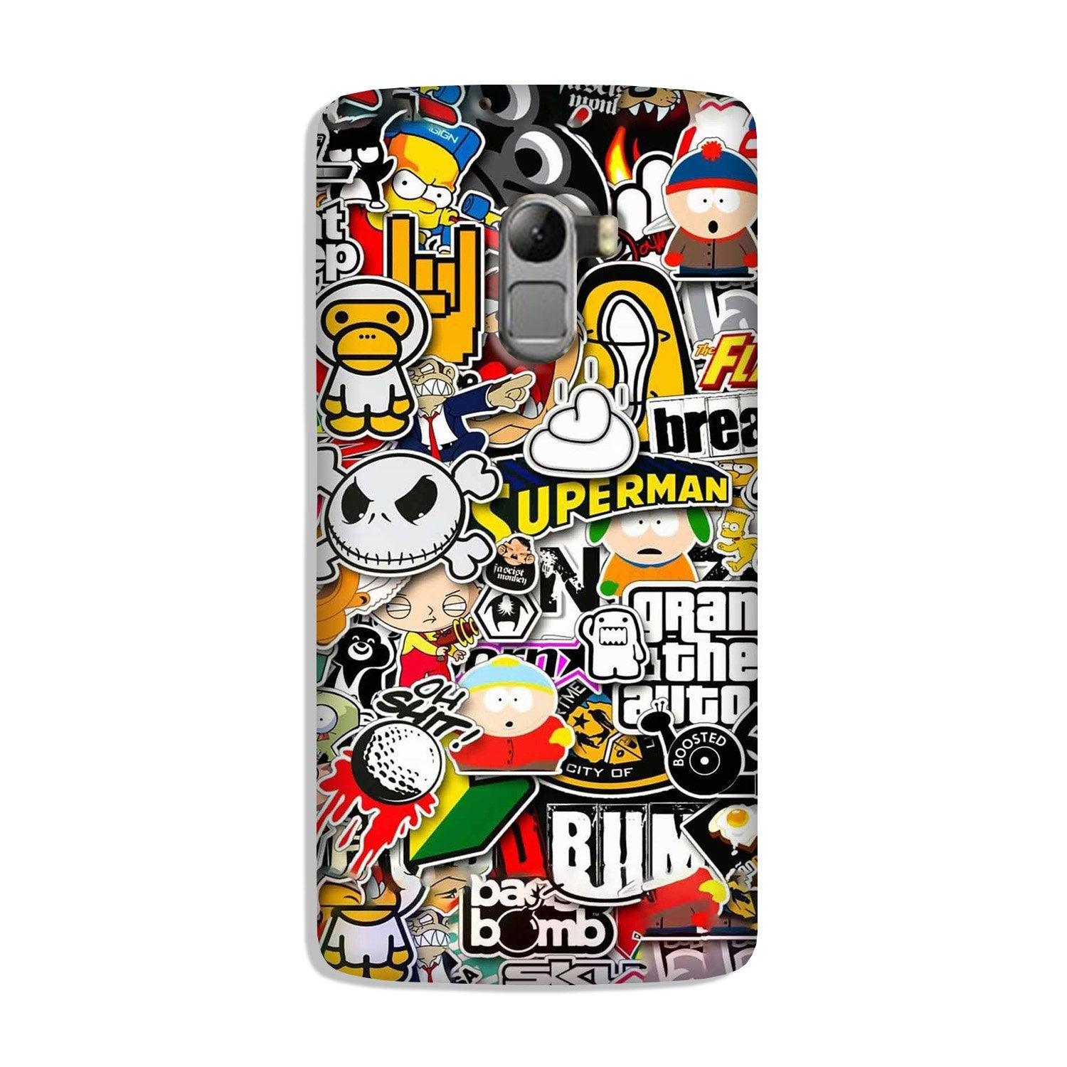 Designer Mobile Back Case for Lenovo K4 Note (Design - 320)