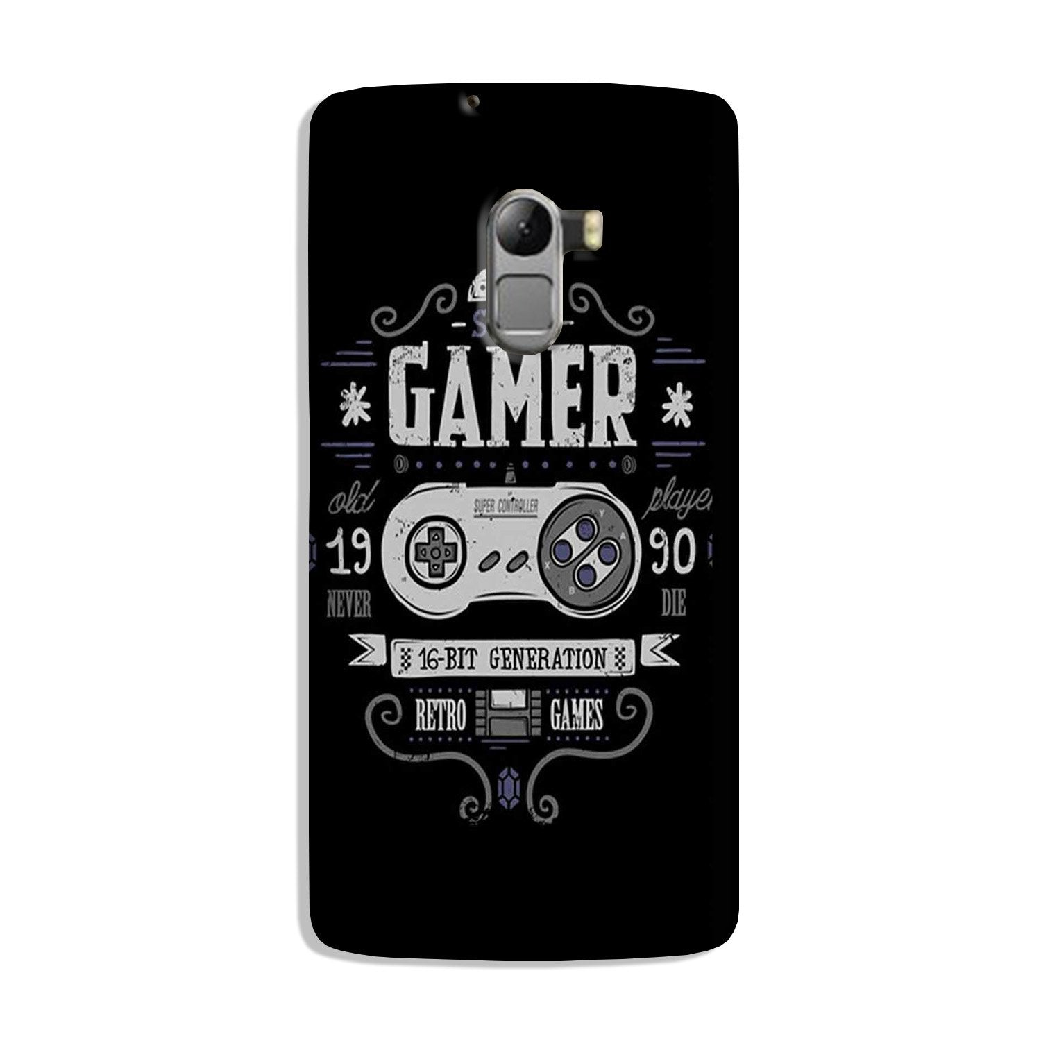 Gamer Mobile Back Case for Lenovo K4 Note (Design - 330)