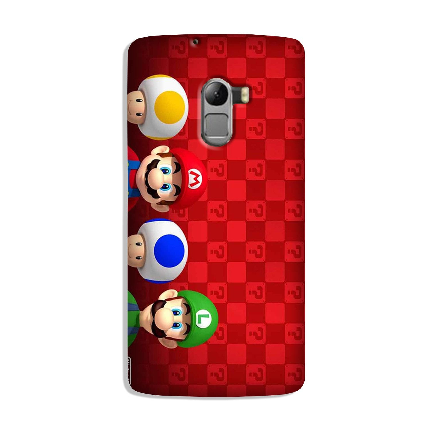 Mario Mobile Back Case for Lenovo K4 Note (Design - 337)