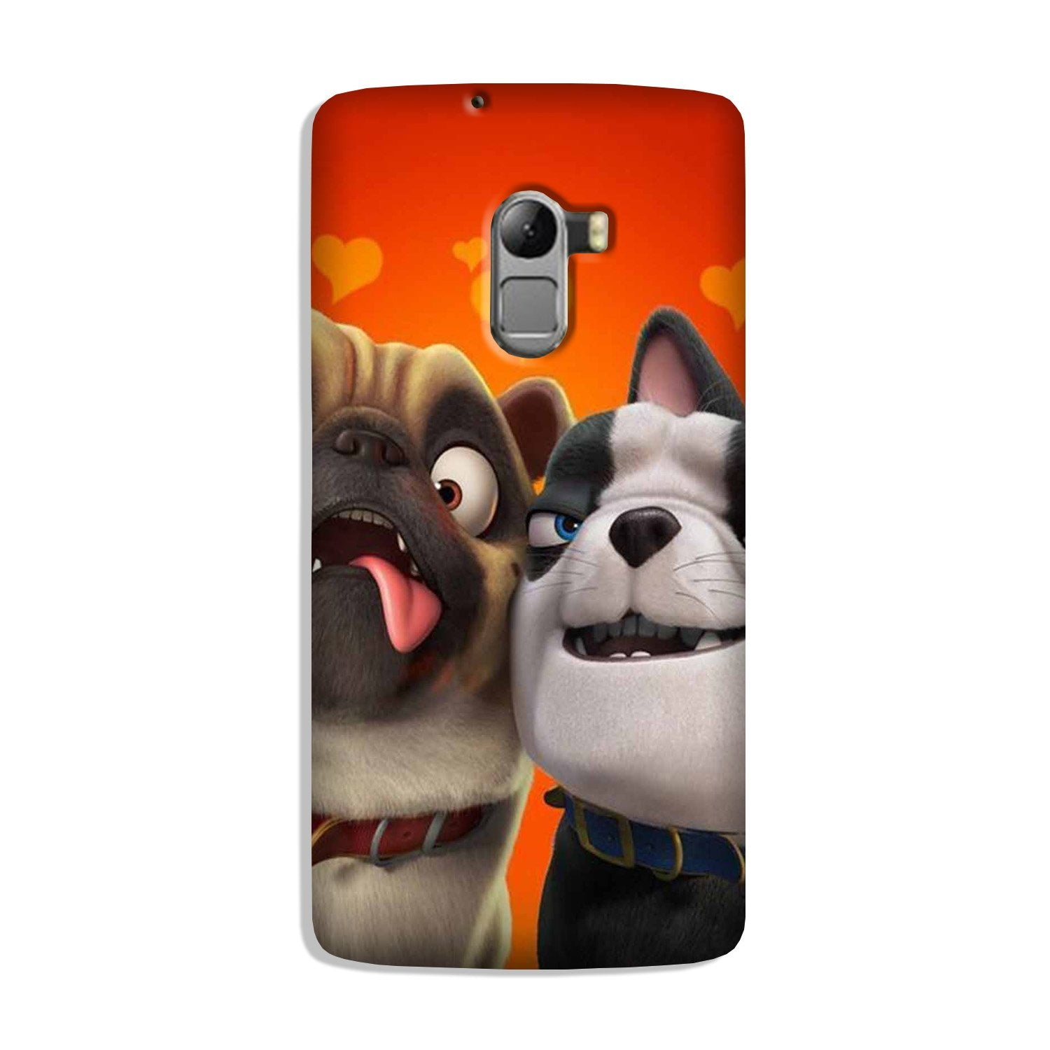 Dog Puppy Mobile Back Case for Lenovo K4 Note (Design - 350)