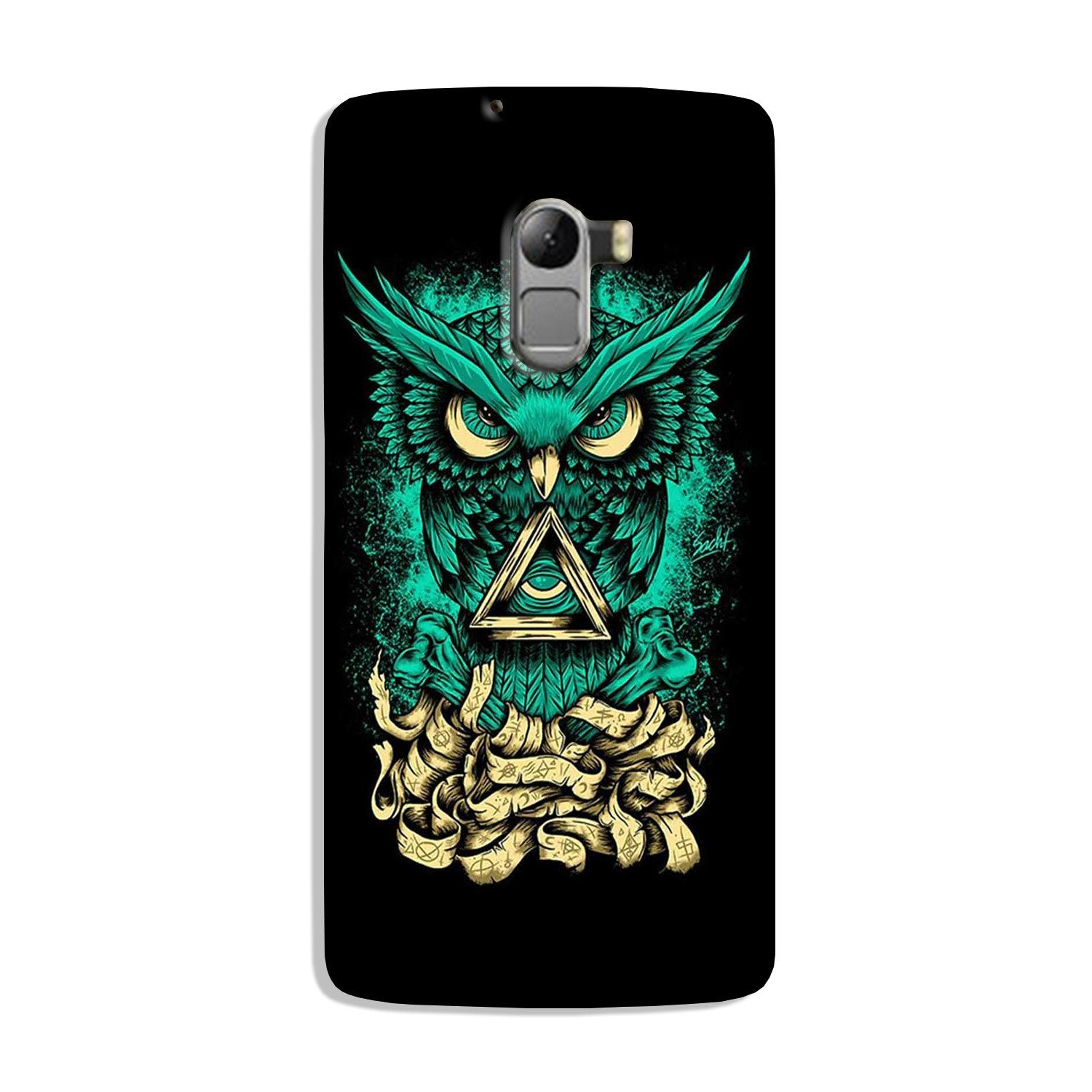 Owl Mobile Back Case for Lenovo K4 Note (Design - 358)