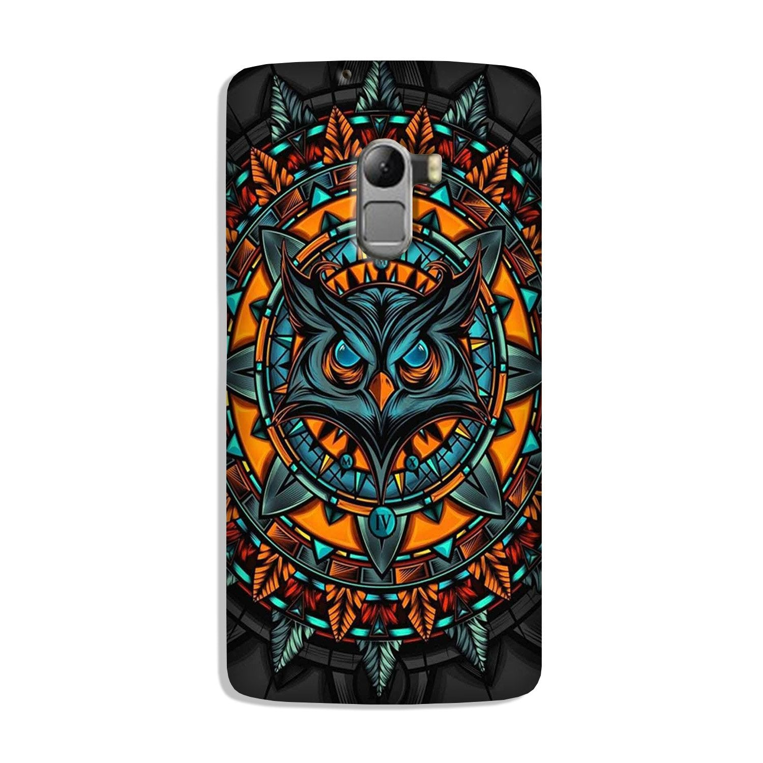 Owl Mobile Back Case for Lenovo K4 Note (Design - 360)
