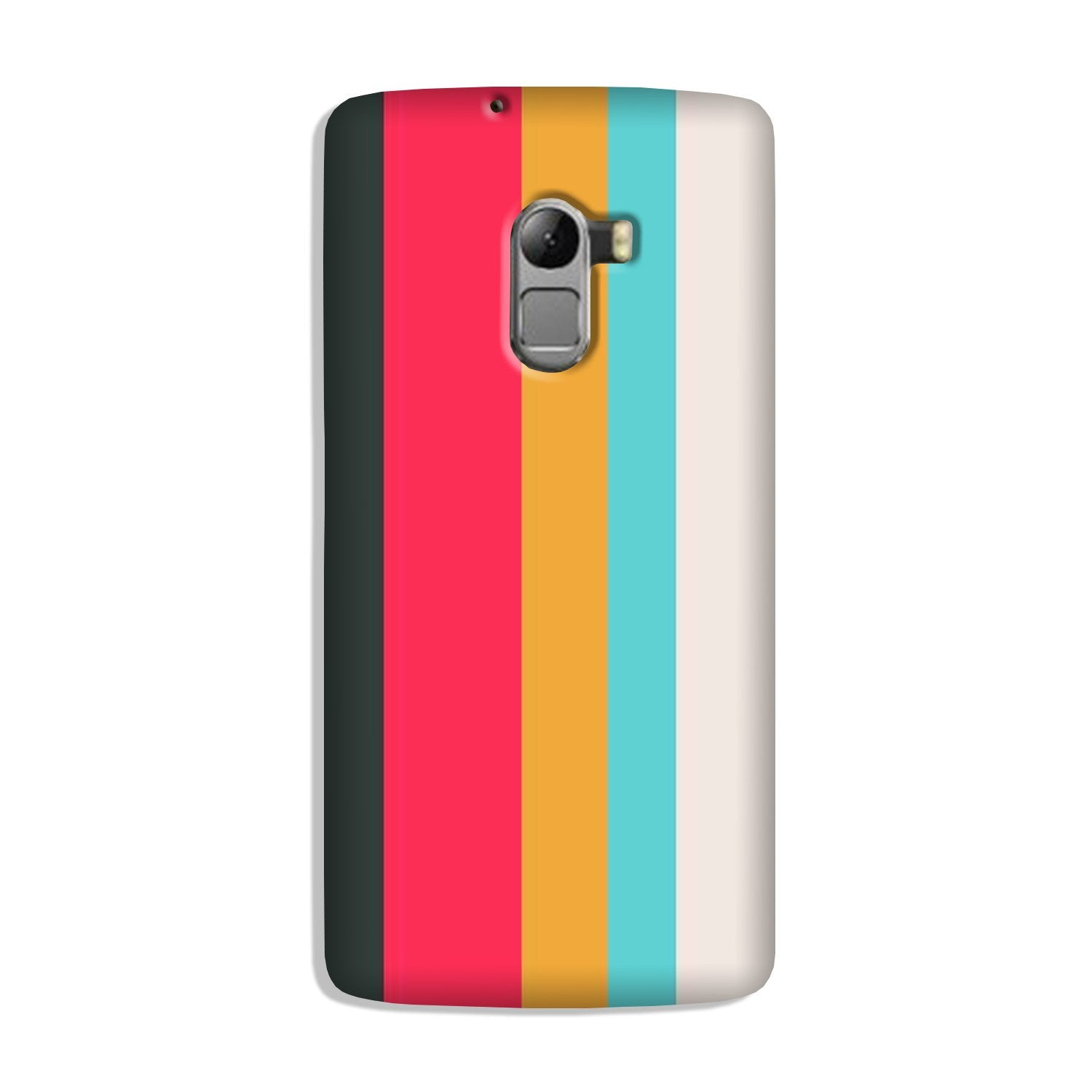 Color Pattern Mobile Back Case for Lenovo K4 Note (Design - 369)