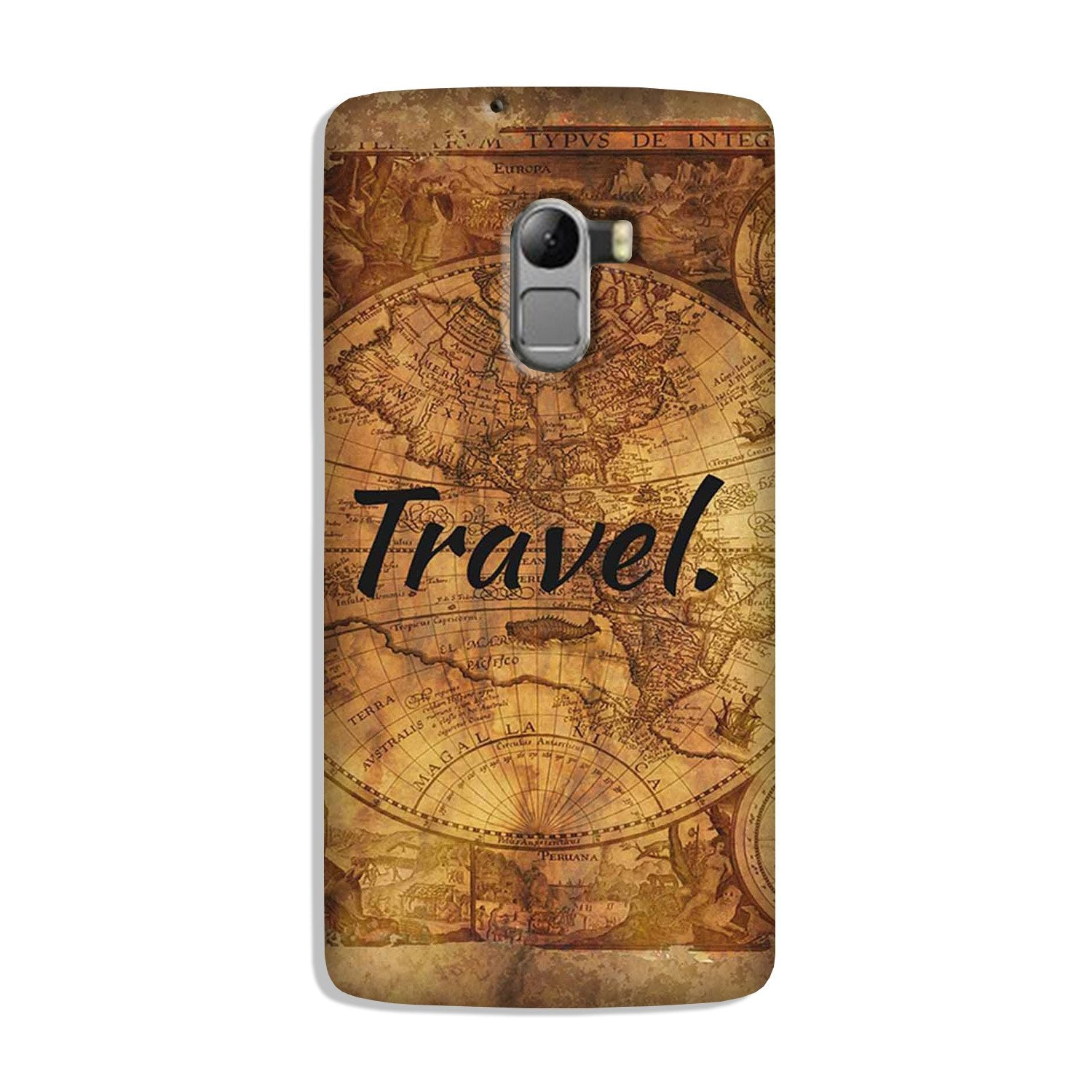 Travel Mobile Back Case for Lenovo K4 Note (Design - 375)