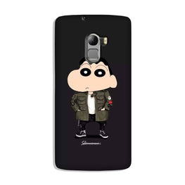 Shin Chan Mobile Back Case for Lenovo K4 Note (Design - 391)