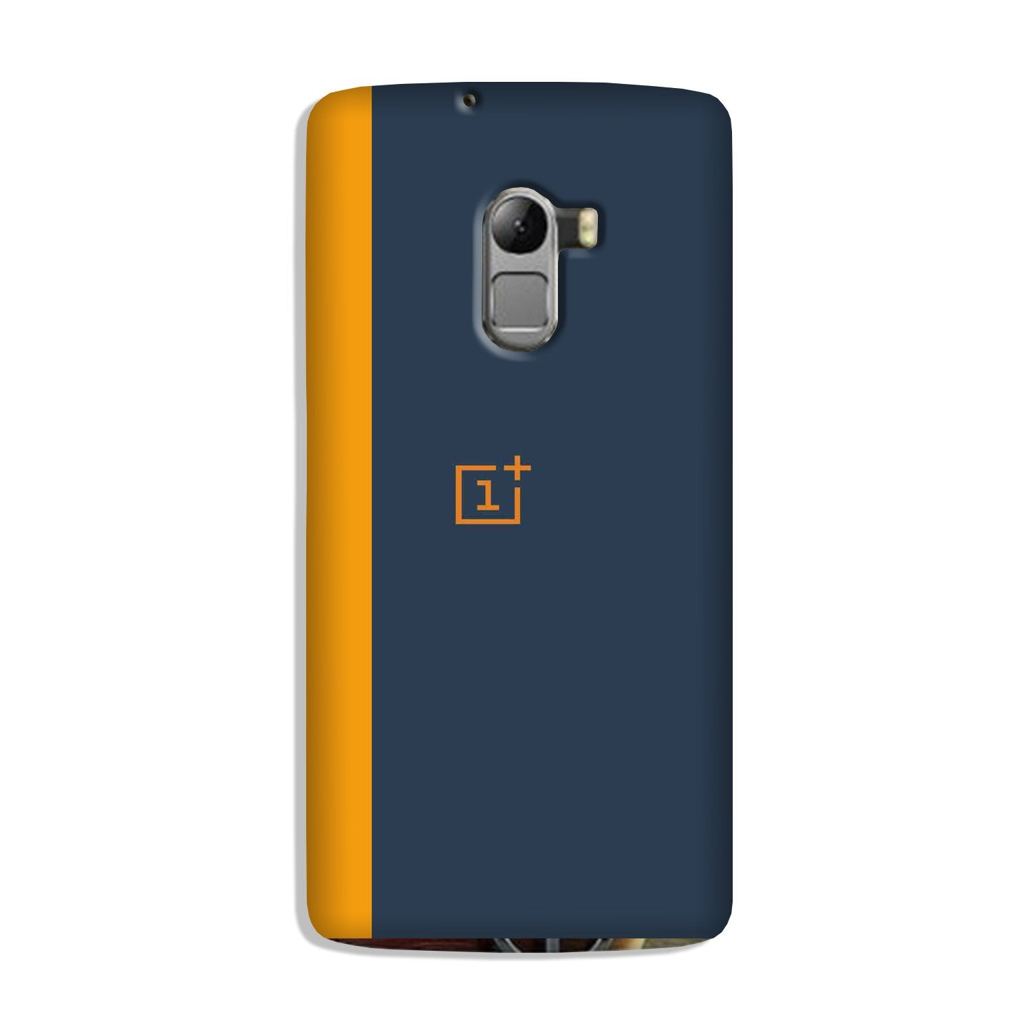 Oneplus Logo Mobile Back Case for Lenovo K4 Note (Design - 395)