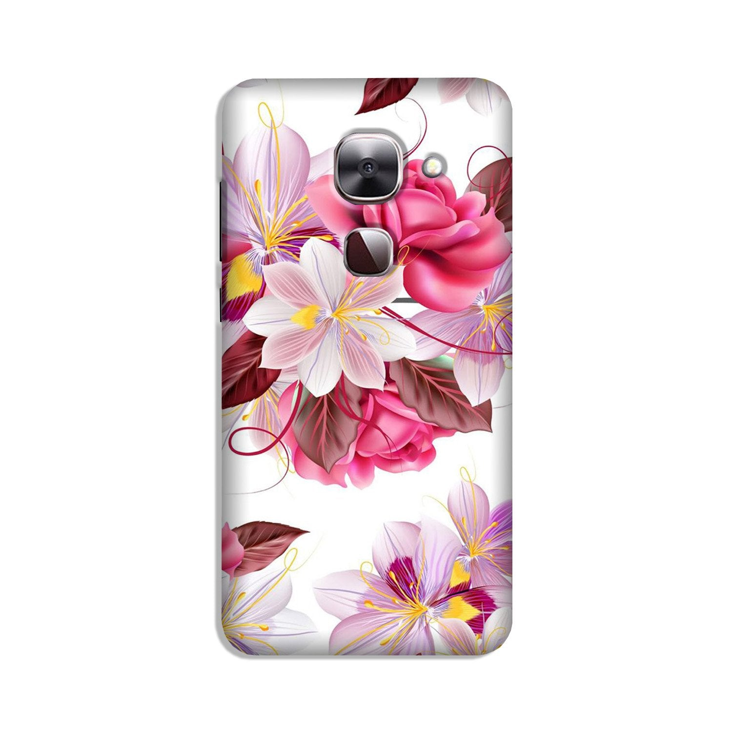 Beautiful flowers Case for LeEco le 2s