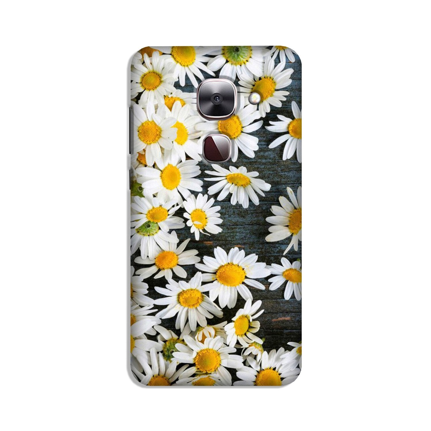 White flowers Case for LeEco le 2s