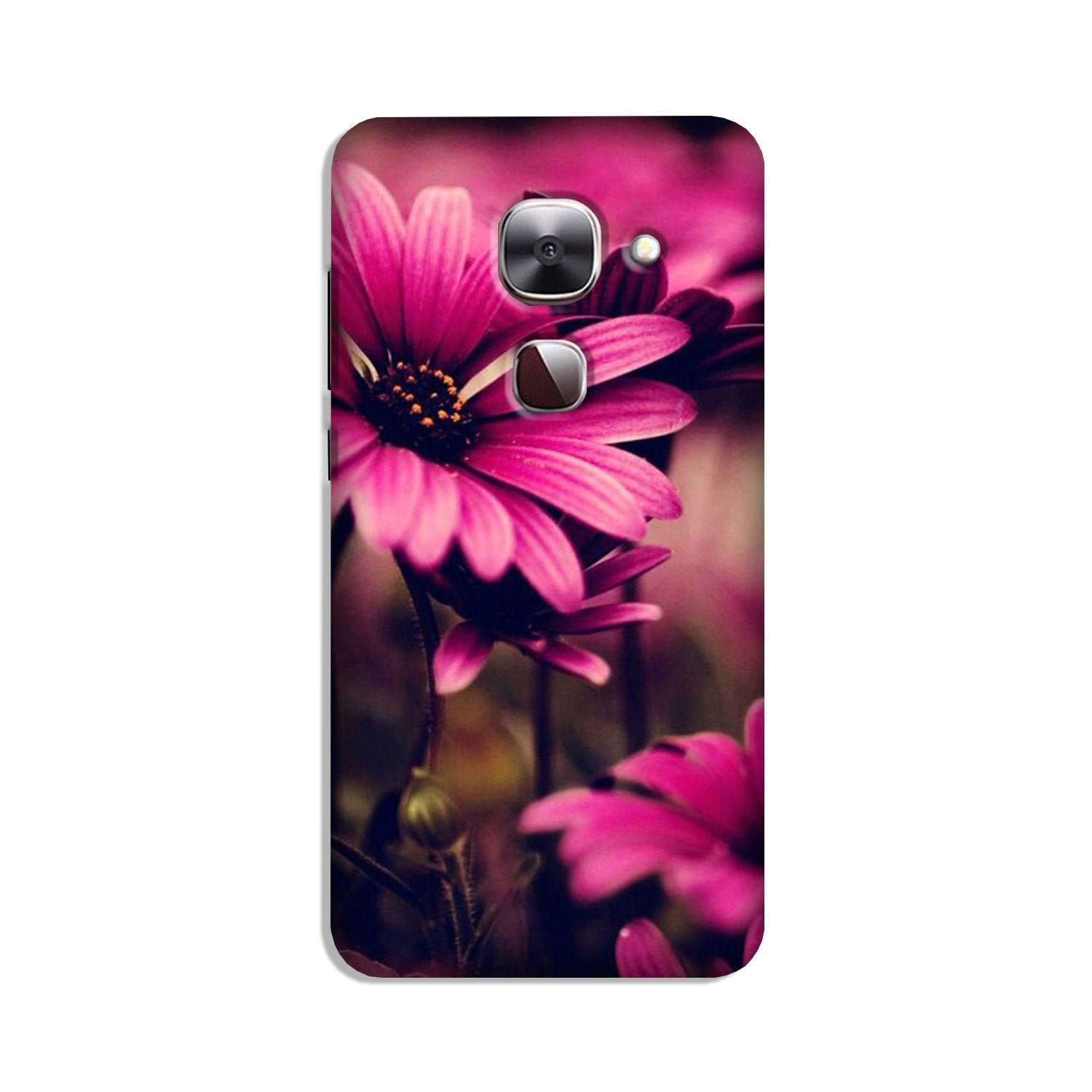 Purple Daisy Case for LeEco le 2s