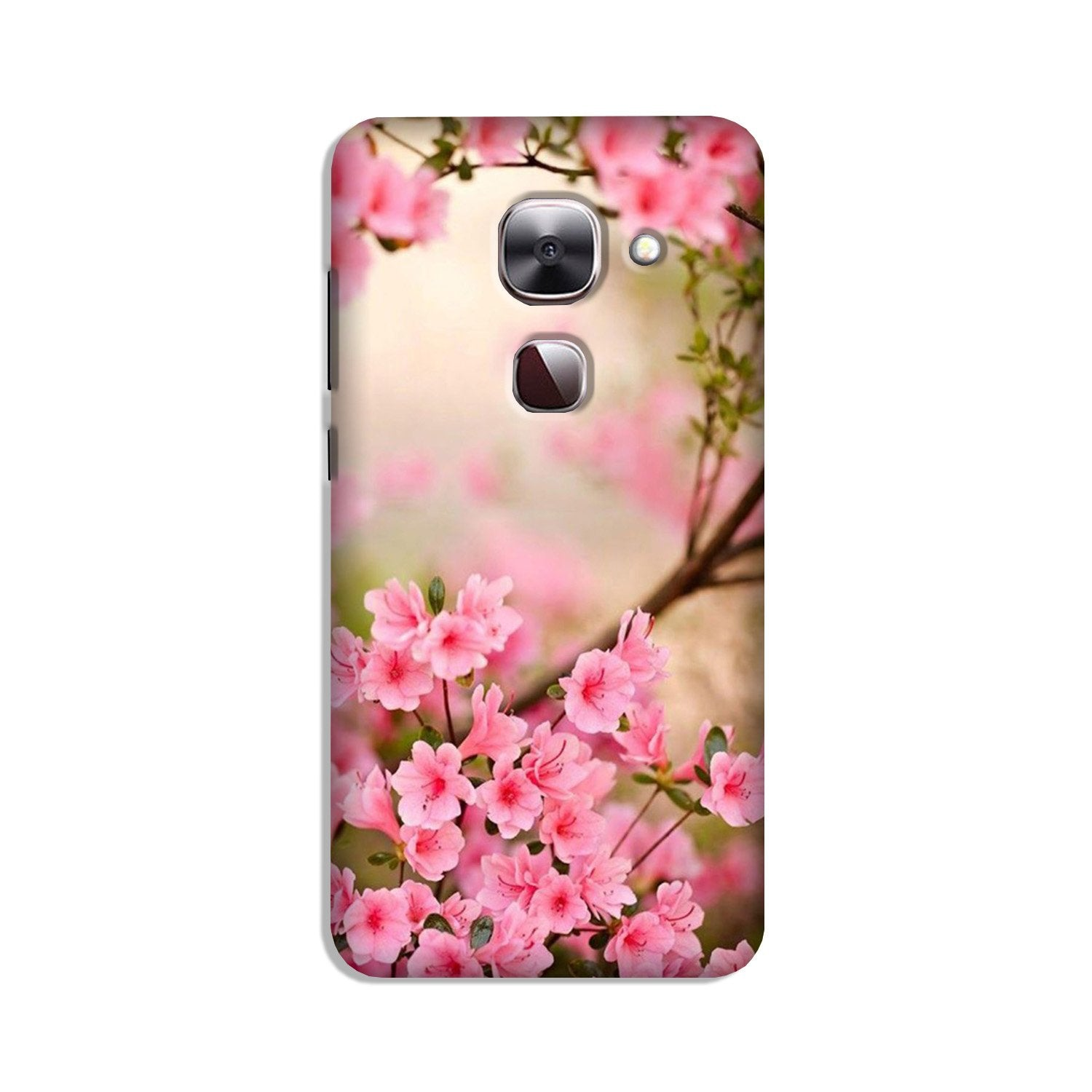 Pink flowers Case for LeEco le 2s