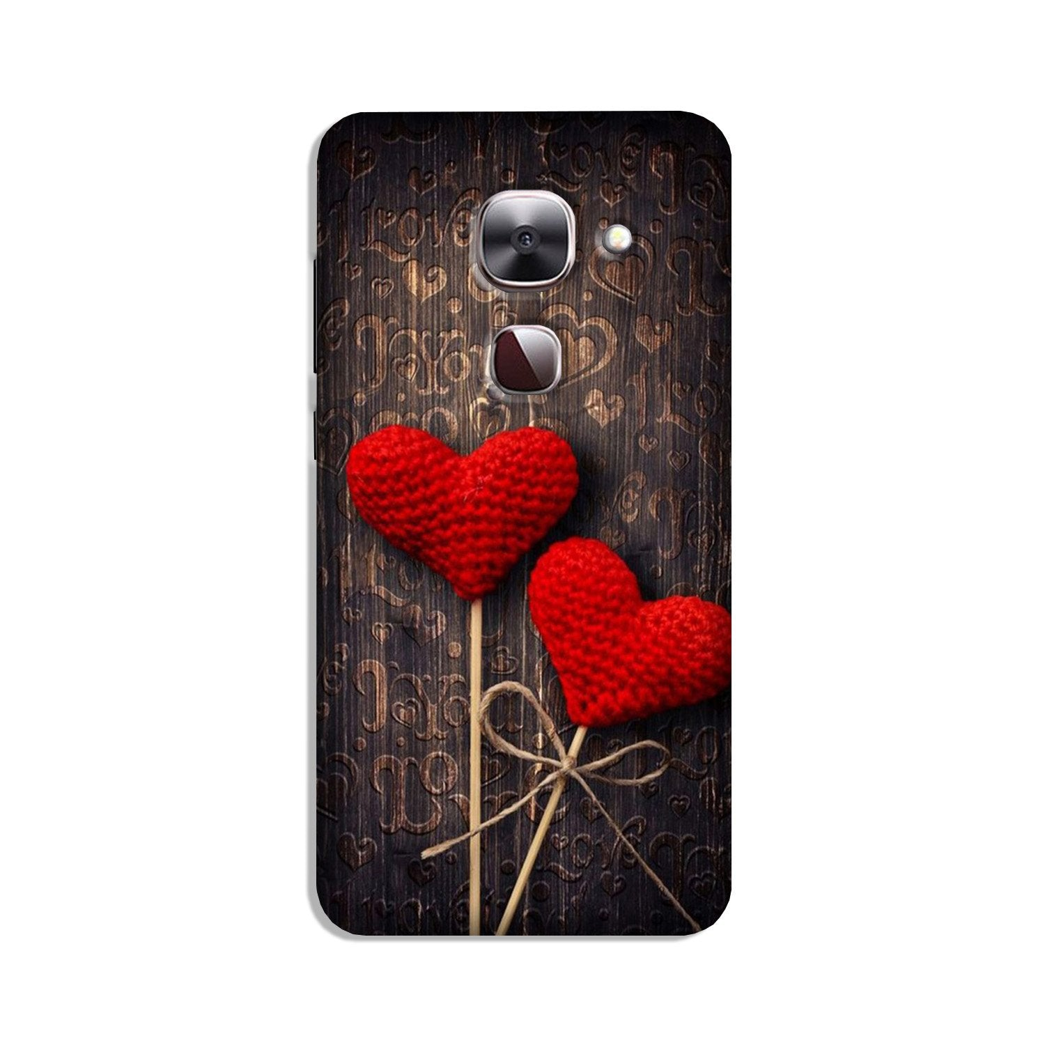 Red Hearts Case for LeEco le 2s