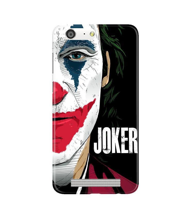 Joker Mobile Back Case for Gionee M5 (Design - 301)