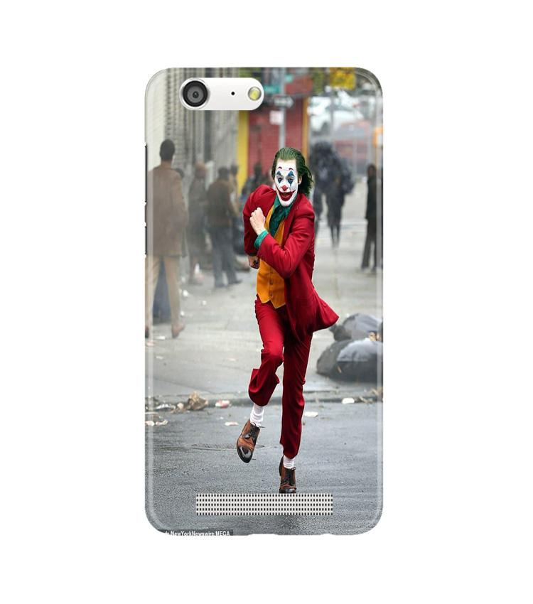 Joker Mobile Back Case for Gionee M5 (Design - 303)