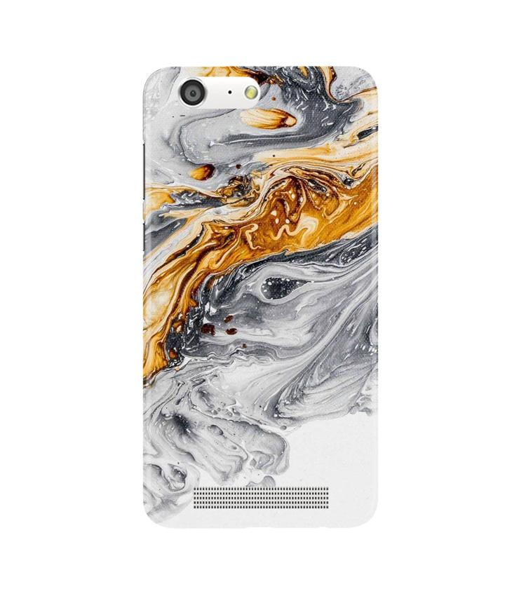 Marble Texture Mobile Back Case for Gionee M5 (Design - 310)