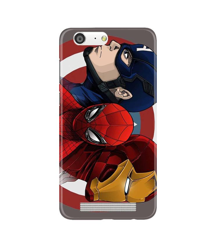 Superhero Mobile Back Case for Gionee M5 (Design - 311)