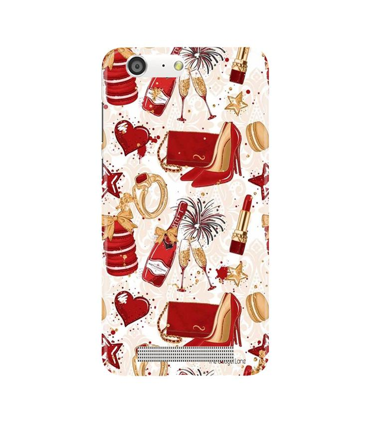 Girlish Mobile Back Case for Gionee M5 (Design - 312)