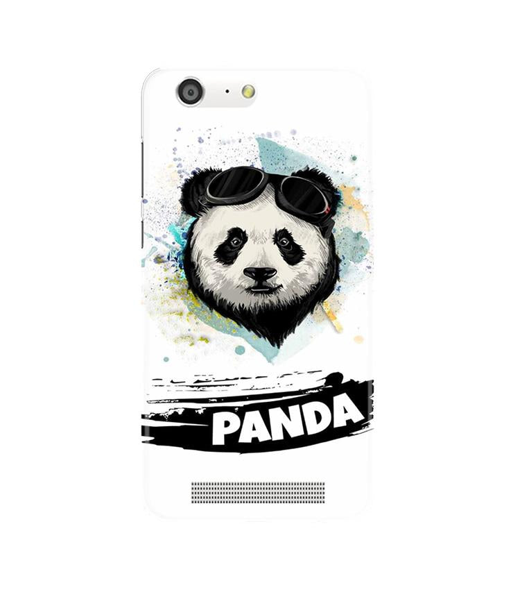 Panda Mobile Back Case for Gionee M5 (Design - 319)