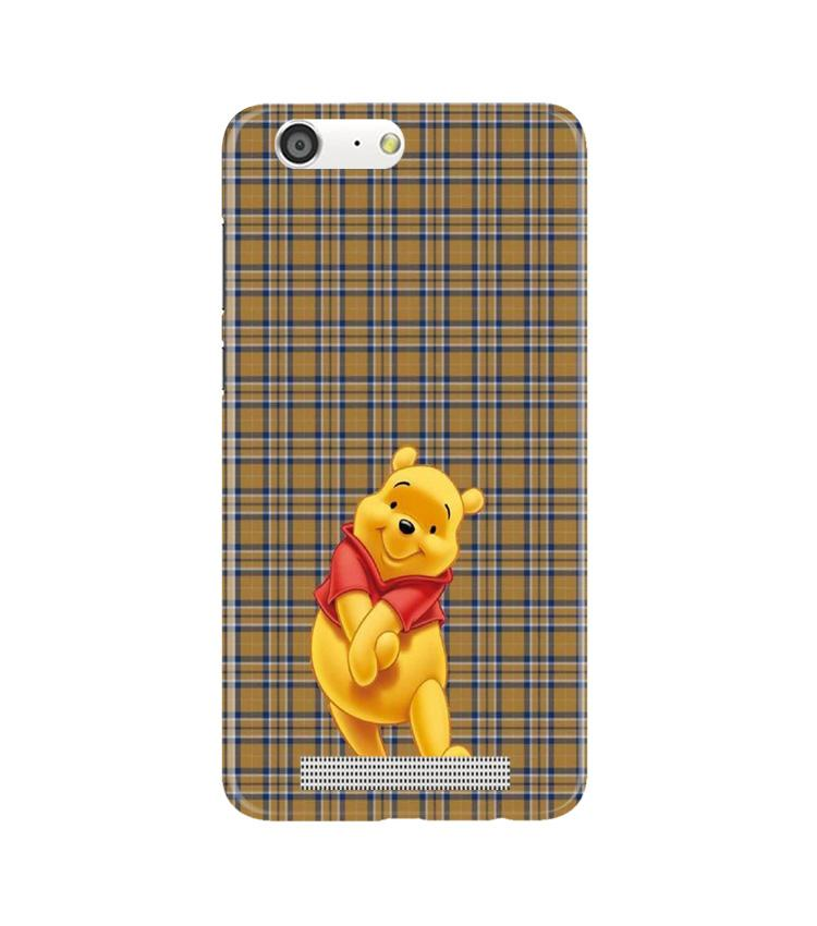 Pooh Mobile Back Case for Gionee M5 (Design - 321)