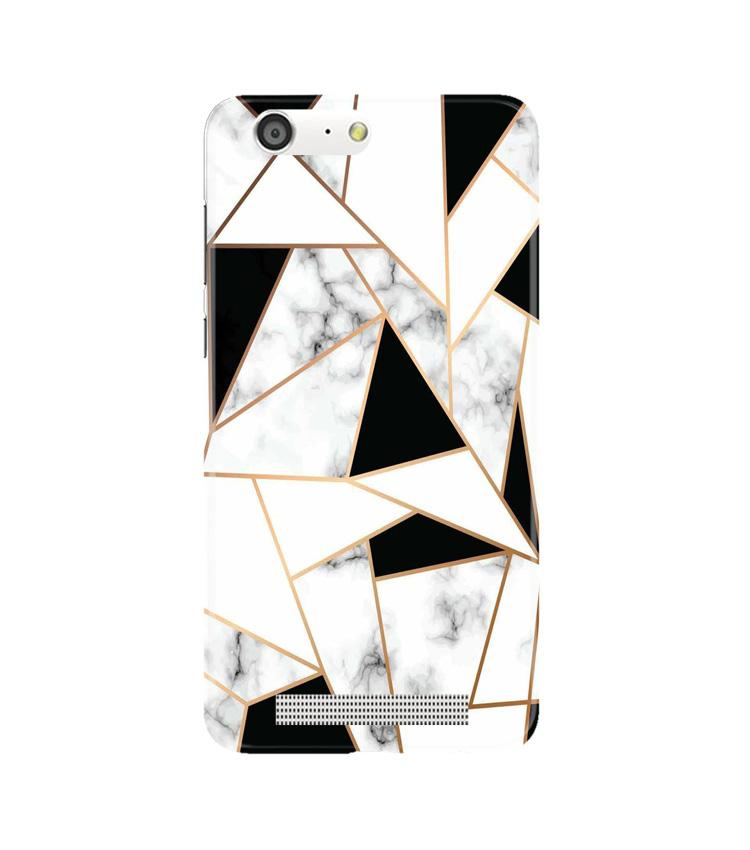 Marble Texture Mobile Back Case for Gionee M5 (Design - 322)