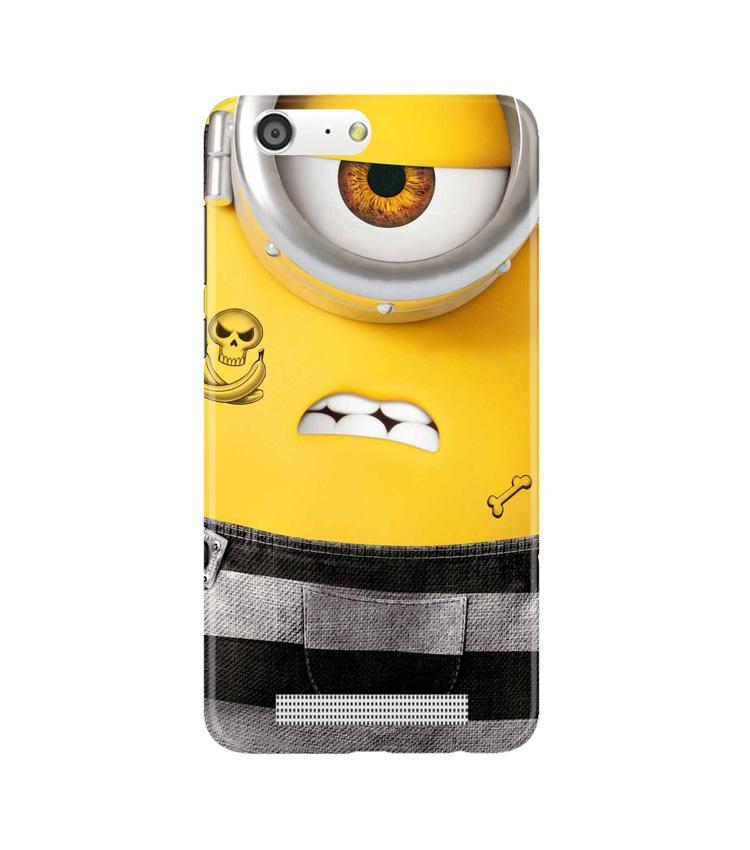 Minion Mobile Back Case for Gionee M5 (Design - 324)