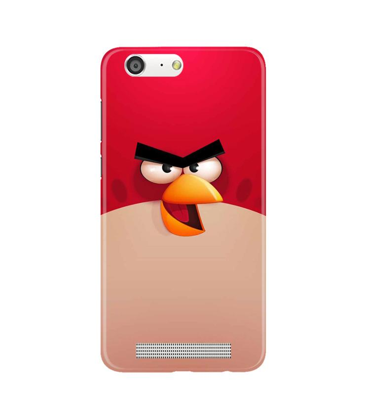 Angry Bird Red Mobile Back Case for Gionee M5 (Design - 325)