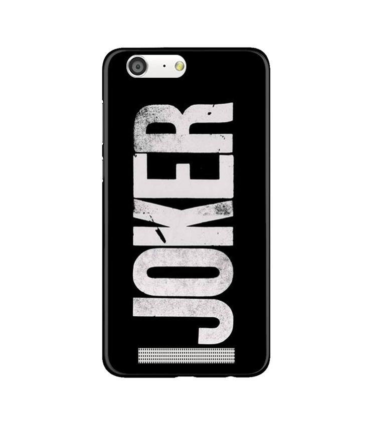 Joker Mobile Back Case for Gionee M5 (Design - 327)