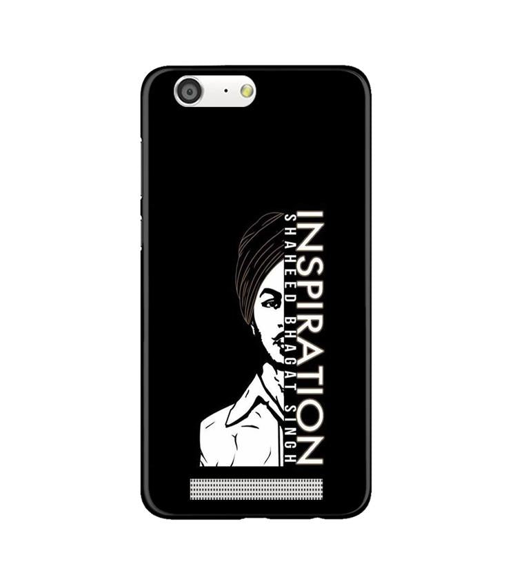Bhagat Singh Mobile Back Case for Gionee M5 (Design - 329)