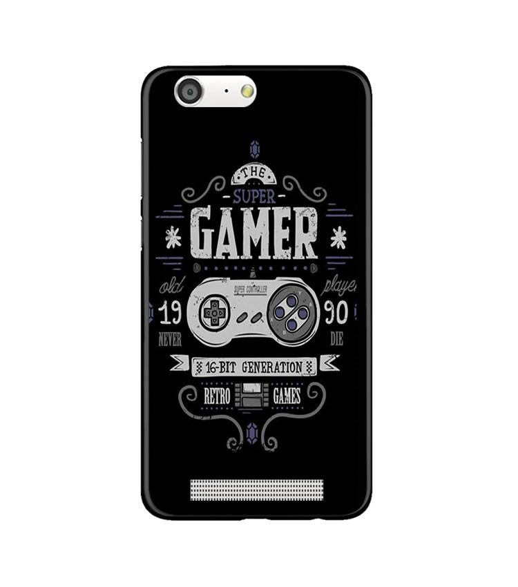 Gamer Mobile Back Case for Gionee M5 (Design - 330)