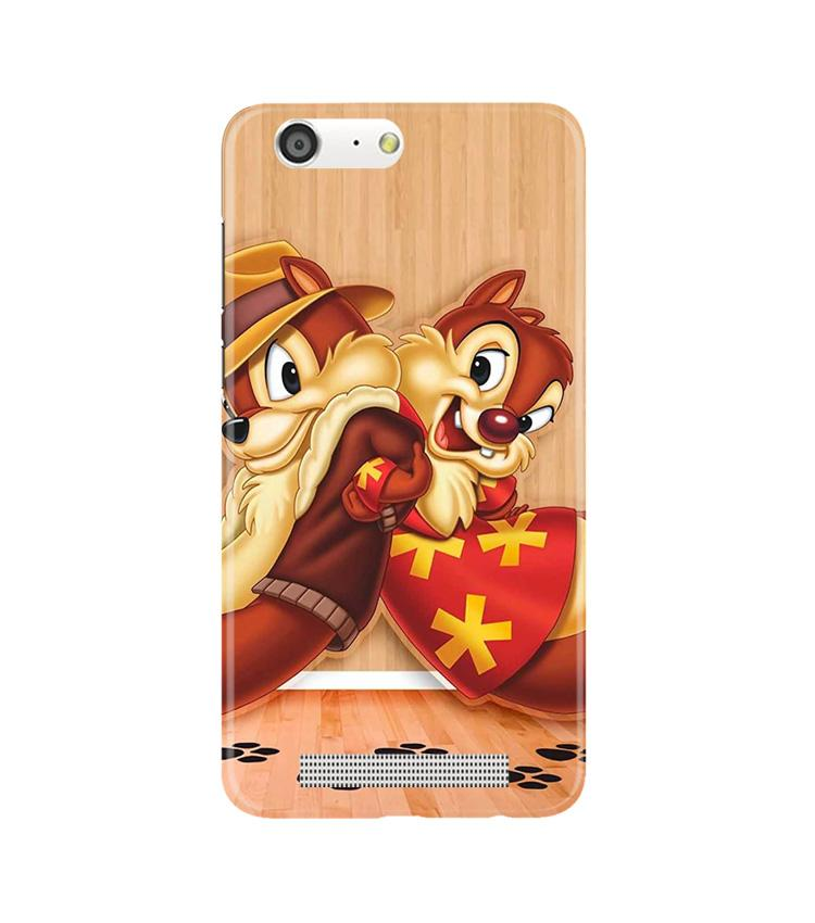 Chip n Dale Mobile Back Case for Gionee M5 (Design - 335)