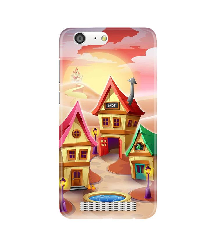 Sweet Home Mobile Back Case for Gionee M5 (Design - 338)