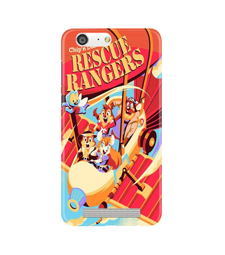 Rescue Rangers Mobile Back Case for Gionee M5 (Design - 341)