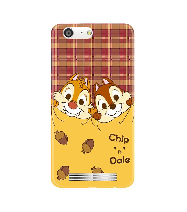 Chip n Dale Mobile Back Case for Gionee M5 (Design - 342)
