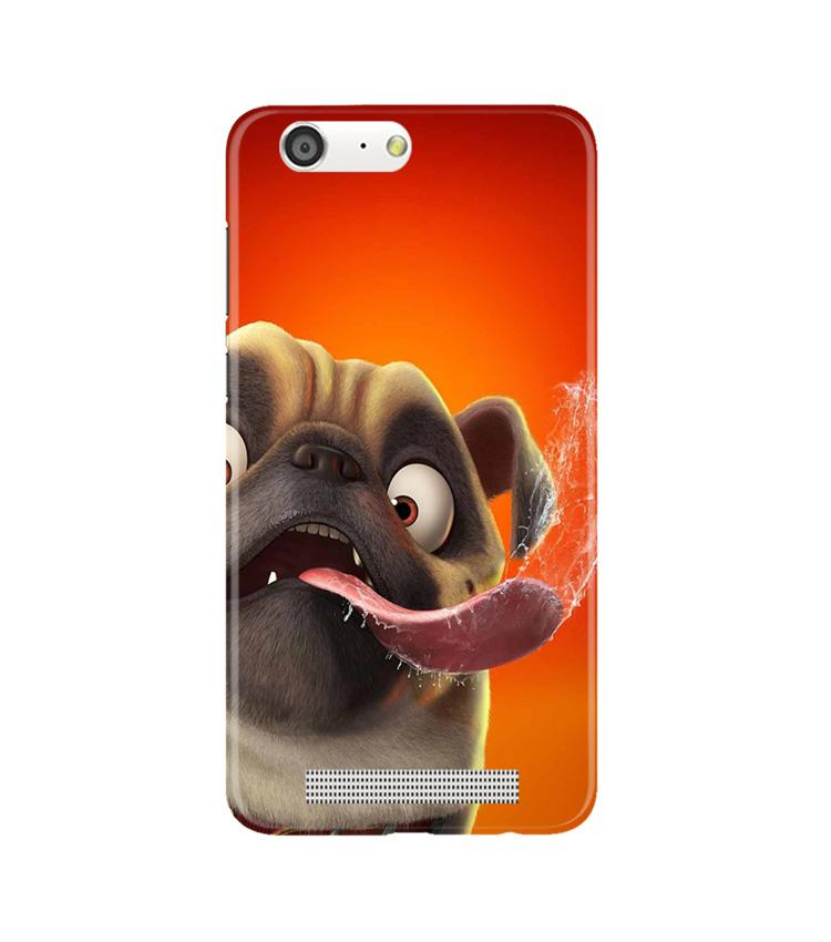 Dog Mobile Back Case for Gionee M5 (Design - 343)