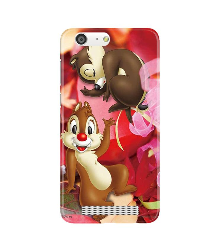 Chip n Dale Mobile Back Case for Gionee M5 (Design - 349)