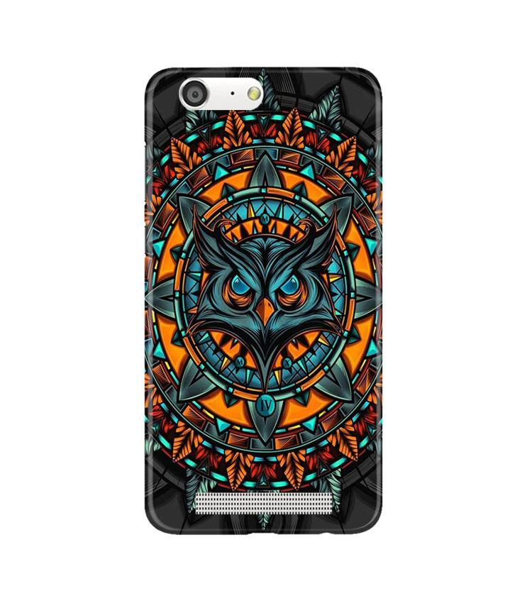 Owl Mobile Back Case for Gionee M5 (Design - 360)