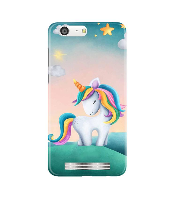Unicorn Mobile Back Case for Gionee M5 (Design - 366)