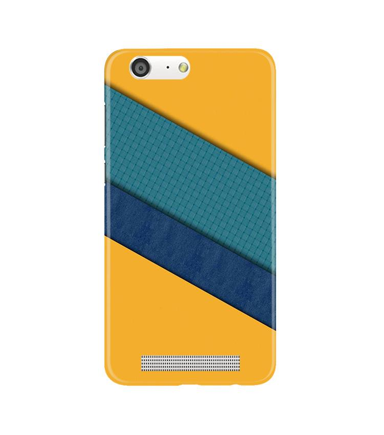 Diagonal Pattern Mobile Back Case for Gionee M5 (Design - 370)
