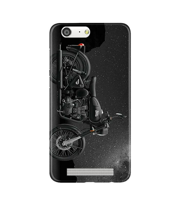 Royal Enfield Mobile Back Case for Gionee M5 (Design - 381)