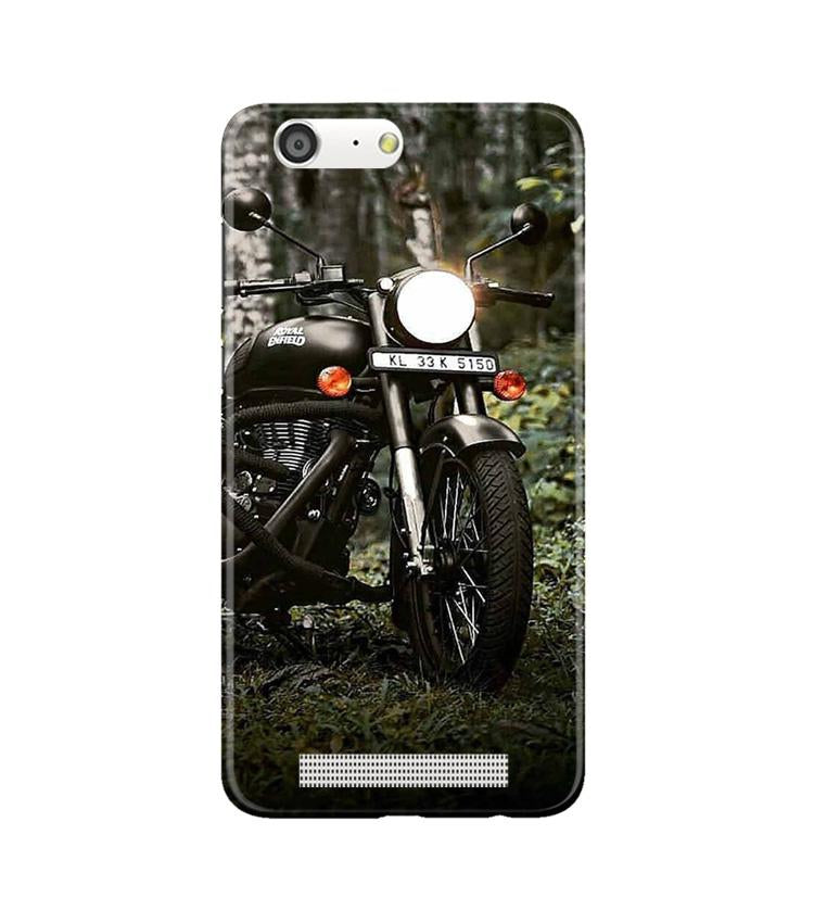 Royal Enfield Mobile Back Case for Gionee M5 (Design - 384)