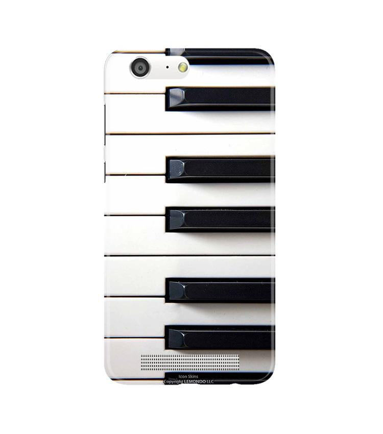 Piano Mobile Back Case for Gionee M5 (Design - 387)