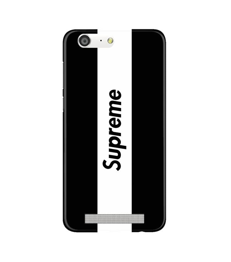 Supreme Mobile Back Case for Gionee M5 (Design - 388)