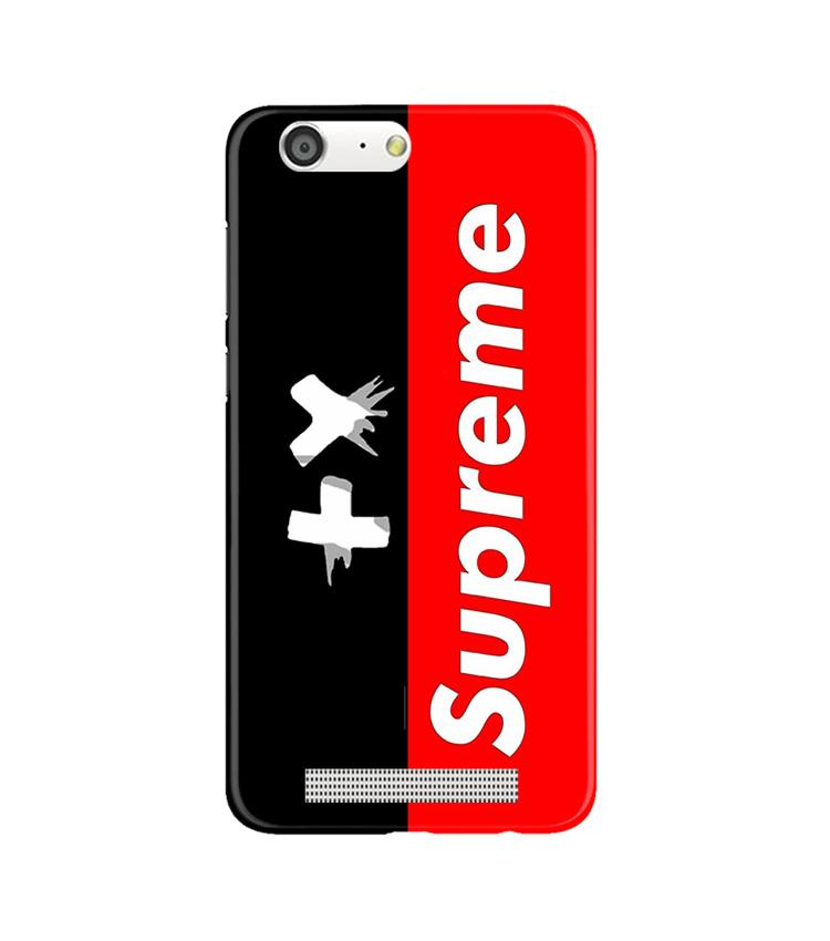 Supreme Mobile Back Case for Gionee M5 (Design - 389)