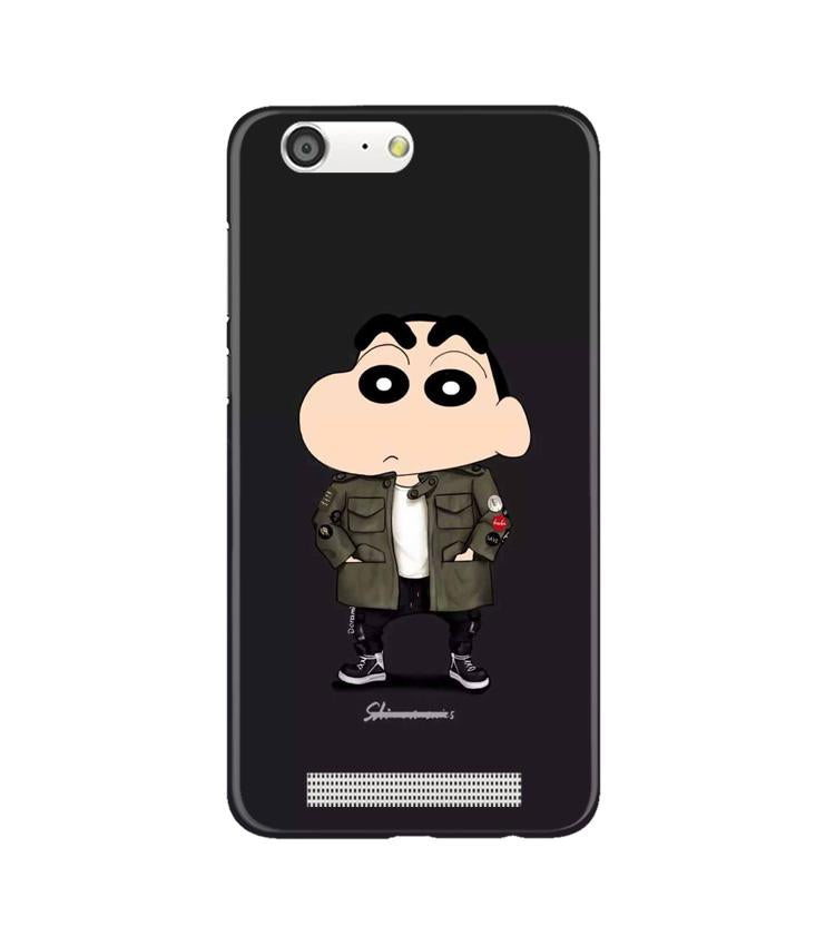 Shin Chan Mobile Back Case for Gionee M5 (Design - 391)