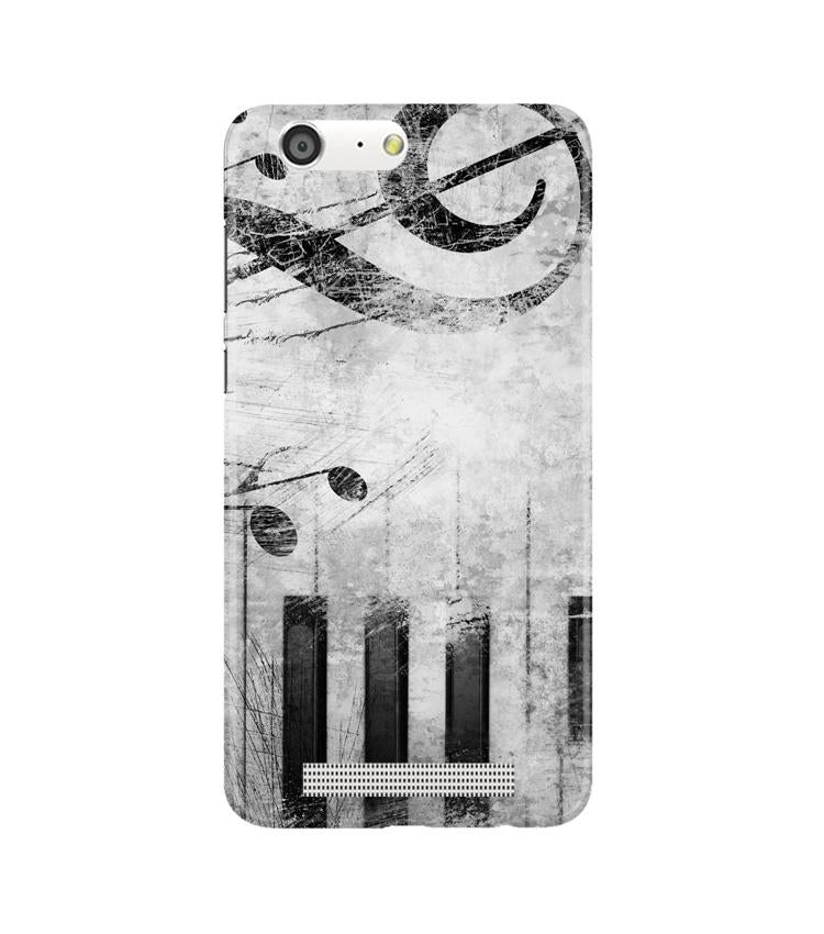 Music Mobile Back Case for Gionee M5 (Design - 394)