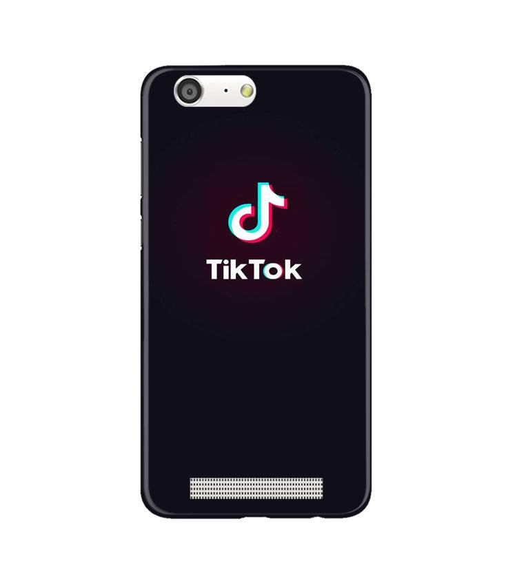 Tiktok Mobile Back Case for Gionee M5 (Design - 396)
