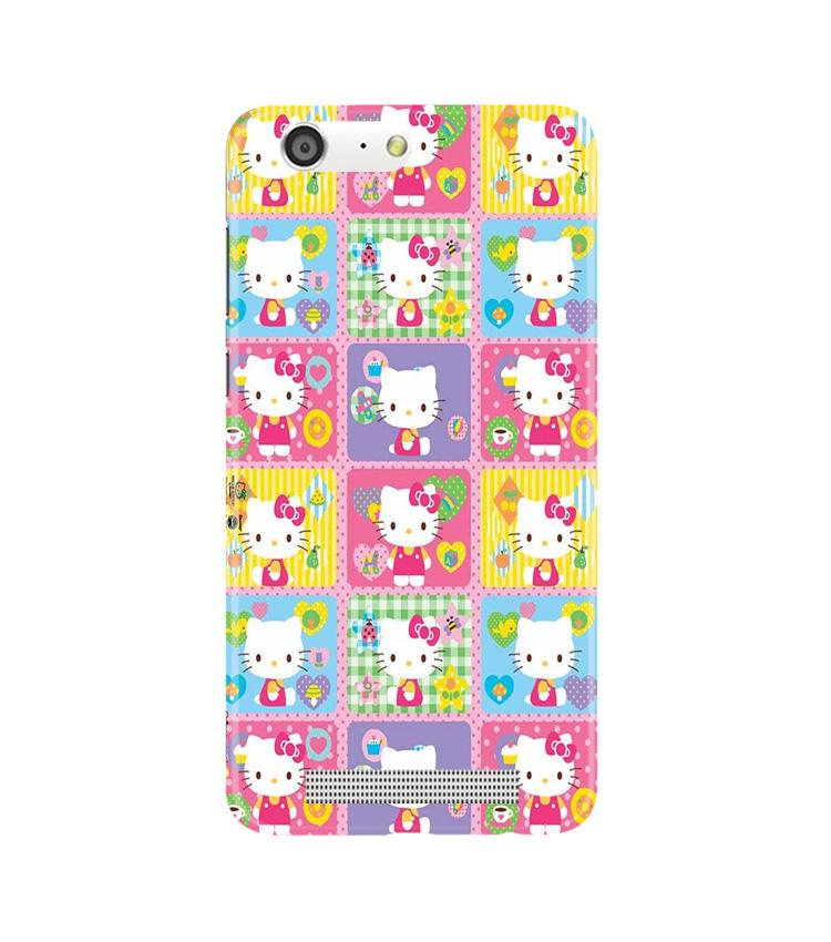 Kitty Mobile Back Case for Gionee M5 (Design - 400)