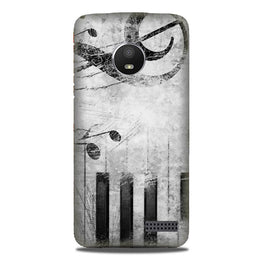 Music Mobile Back Case for Moto E4 (Design - 394)